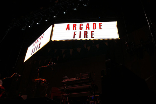 Arcade Fire Heineken Music Hall mashup foto - Arcade Fire, live at the HMH, Amsterdam