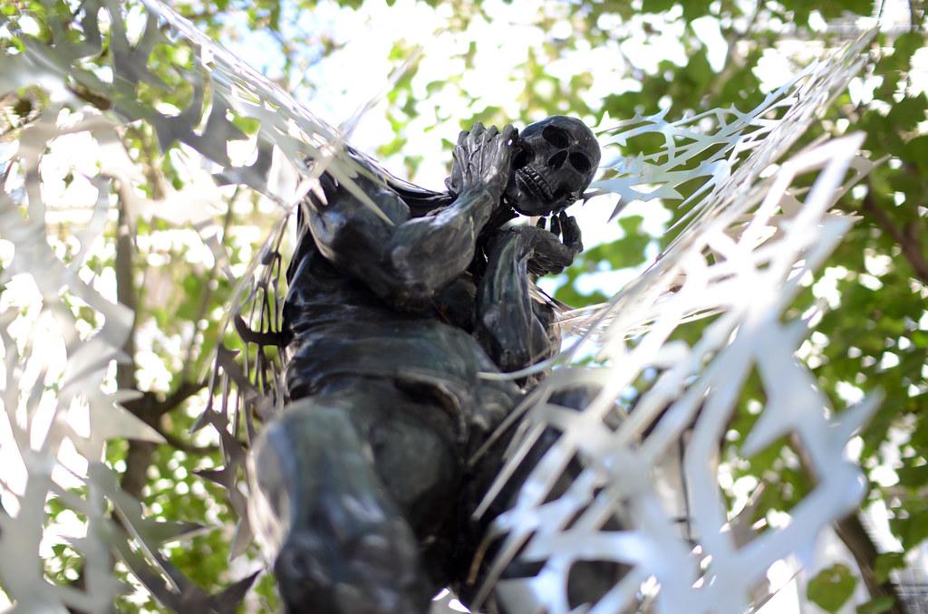 Sculpture rue Furstemberg