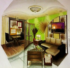 Anahaw Inspired Unit (bob bernabe) Tags: city art robert watercolor painting de for design university interior philippines perspective inspired bob competition m bulacan condo vida manila isabel filipino estilo pup sta unit polytechnic anahaw cafa malolos bernabe