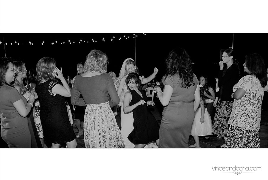 2 black and white dance