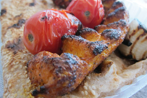 Kabab Mahaleh: Chicken Koobideh + Sangak