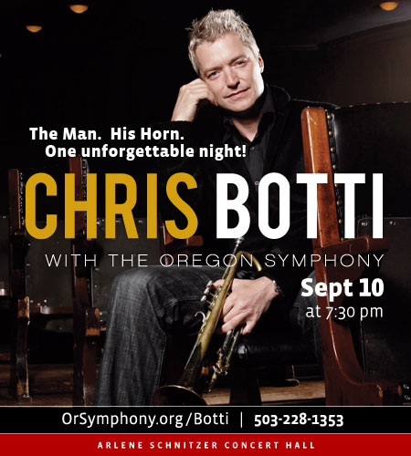 Chris Botti @ Oregon Symphony