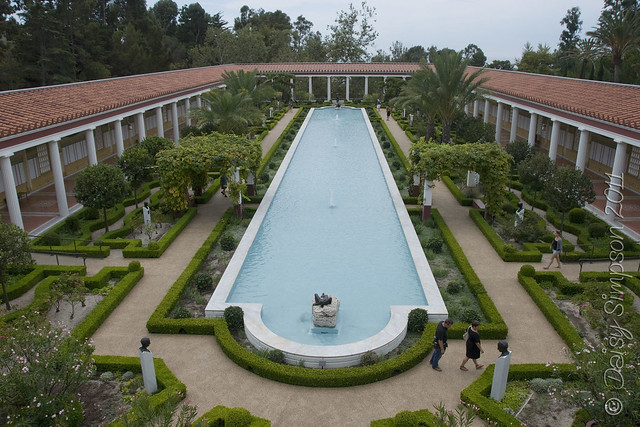 D2 getty villa outer garden
