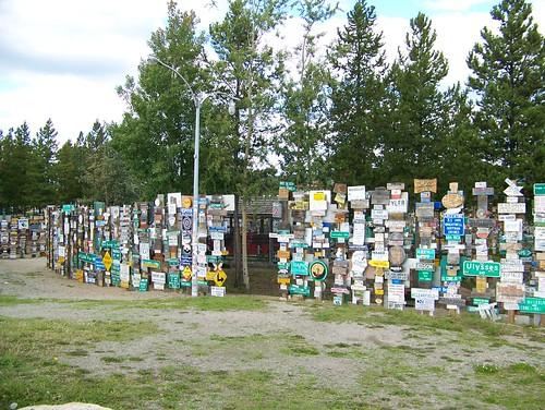 100_0195-Signpost Forest, Watson Lake