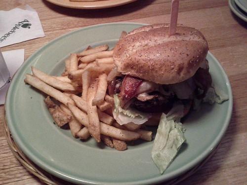 Bourbon Black & Blue Burger