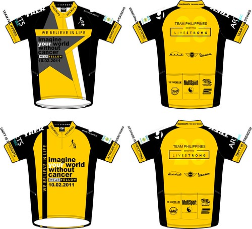 Revised Livestrong Day 2011 Jersey
