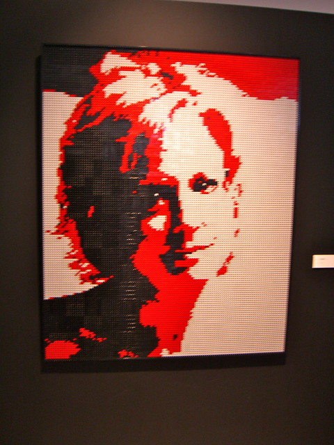Lego Mosaic Portrait