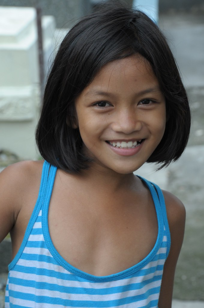 Young filipina girl