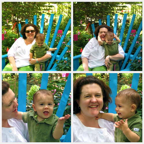 Mommy and Luke collage