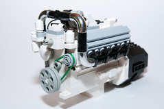DetroitDiesel_8V92T_05 (Maciej Drwięga) Tags: truck lego detroitdiesel 8v92t 8v92