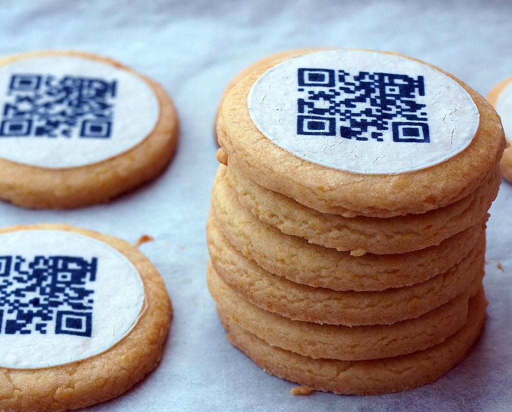 QR-Code + Cookies = Qkies
