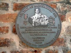 Photo of Nicholas Monsarrat grey plaque