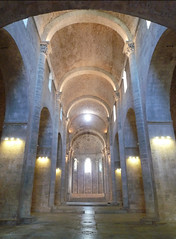 Monestir de Sant Pere de Galligants, Gerona, nave toward apse