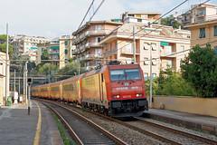 Arena Ways E483 018 (Maurizio Boi) Tags: railroad italy train rail railway locomotive treno ferrovia locomotiva e483 arenaways