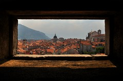 Window onto Dubrovnik