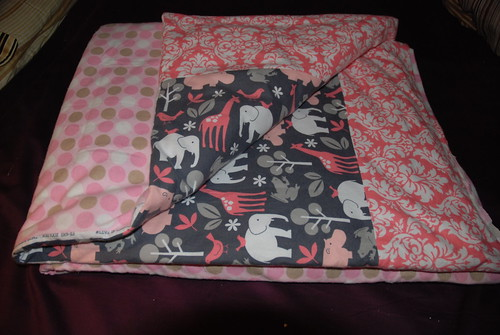 custom reversible flannel bedding