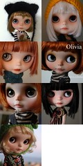 Sia, Fiep, Ghibli, Olivia, New Olivia (Who is now the alive version of Kobe, my Princess a la Mode), Noor or Hotaru..... (Vainilladolly) Tags: fdsflickrtoys doll olivia ghibli custom sia noor hotaru fiep blyteh vainilladolly