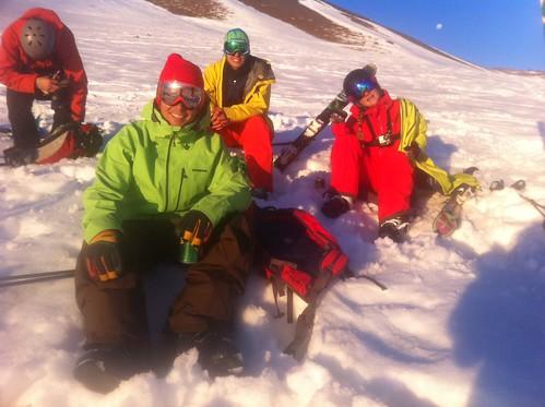 """K2 Backside team """"apres"""""""