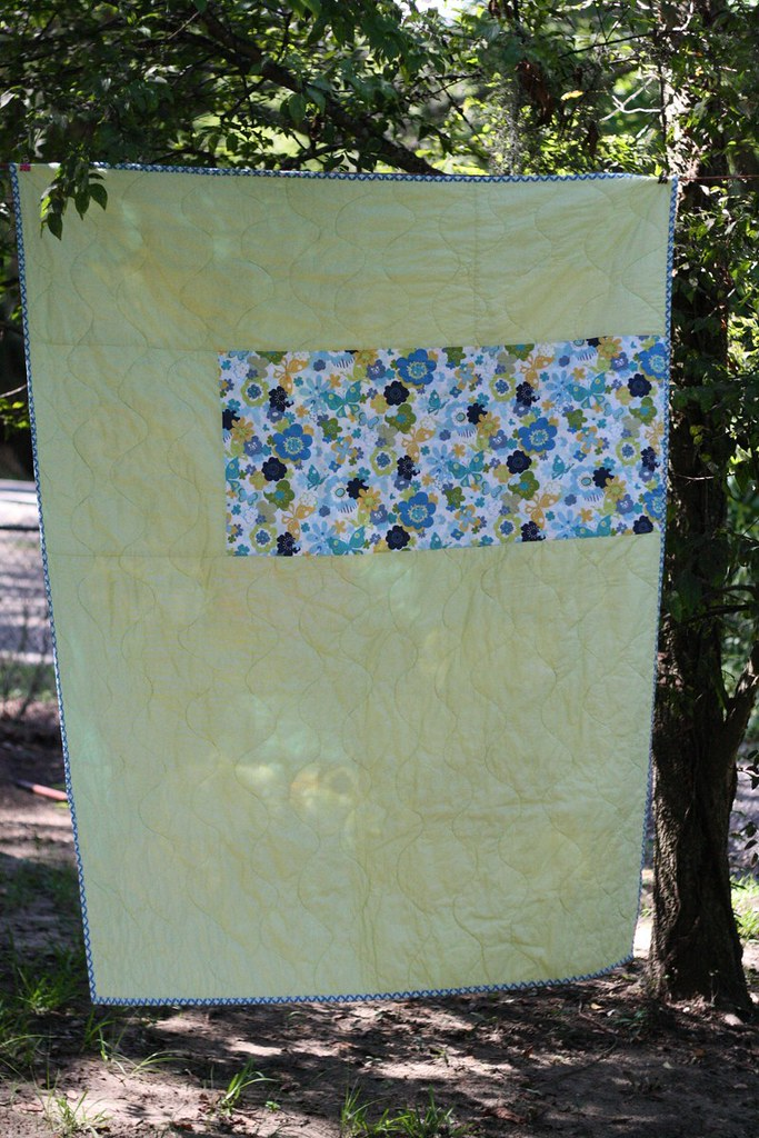 Back of Ogee/Curlicue Crush Quilt