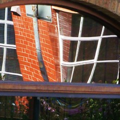 Leicester reflections (tina negus) Tags: urban distortion abstract reflections leicester