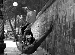 Sleeping on the street (KAM0S) Tags: trip nikon holidays vietnamese vietnam hanoi vacations sapa bacha halongbayninhbinh