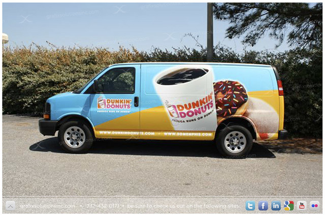 chevy donuts delivery express van dunkin coolatta