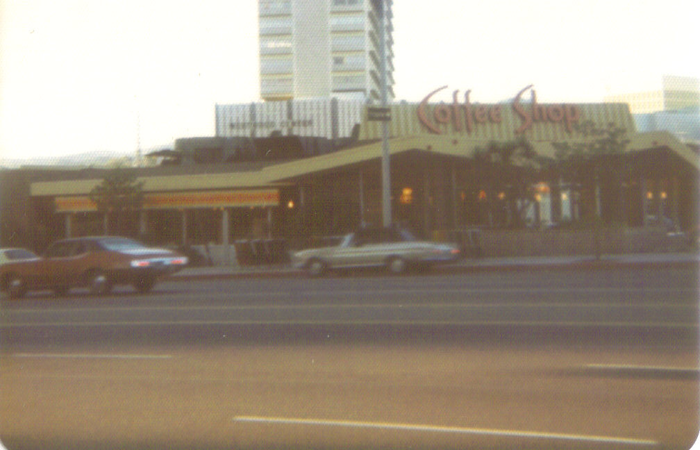 Ships Coffee Shop, Wilshire at Glendon, Westwood, Los Angeles, 1974
