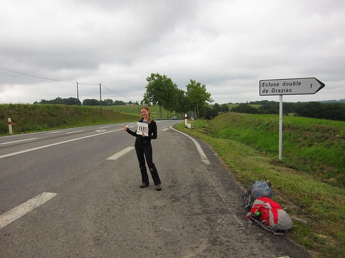 Departing France Hitchhiking