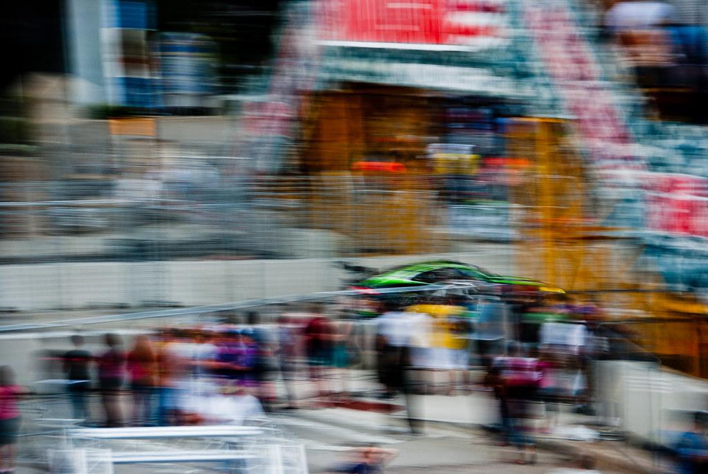 car and blur