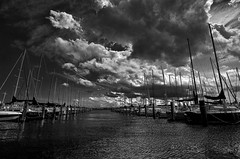 Always love boats...3 (louieliuva) Tags: blackwhitephotos