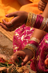 Pink and Gold (Sunanda Chandry Koning) Tags: travel nepal color digital canon photography eos photo asia 300d powershot kathmandu patan 2009 canoneos300d bhaktapur travelphotography lalitpur april2009 sx100 may2009
