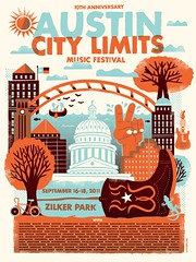 Austin City Limits (tad carpenter) Tags: illustration austin acl austincitylimits tadcarpenter