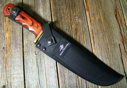 "Winchester Large 14 1/4"" Overall Bowie Knife"