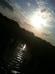 sunset at ghost montain ( ilmicio ) Tags: sunset lake lago tramonto canne obliquamente