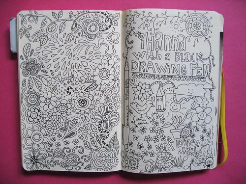 Inside my diary