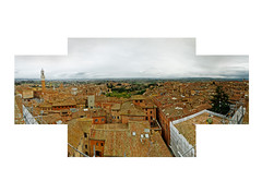 View from the Facciatone (Duomo Novo) (AndrewSeles) Tags: italy panorama italia cathedral siena duomo facciatone