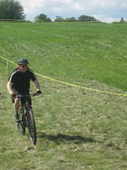 IMG_7511 (DJ Saint) Tags: detroit mopeds scooters velodrome gokarts mountainbikes pitbikes minibikes fixedgearbikes doraisvelodrome thunderdrome2011 gearedroadbikes themowergang