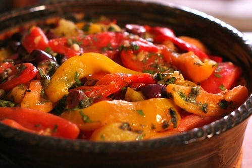Roasted Peppers With Capers And Mozzarella Recipes — Dishmaps
