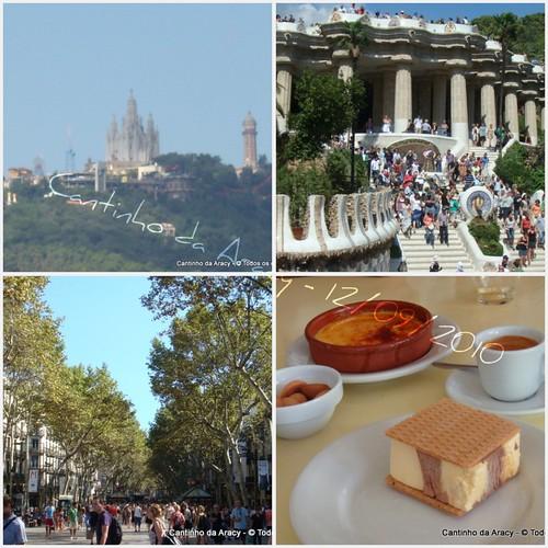 Há um ano em Barcelona by Cantinho da Aracy
