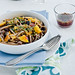 Buckwheat Linguine with Aubergine and Mango