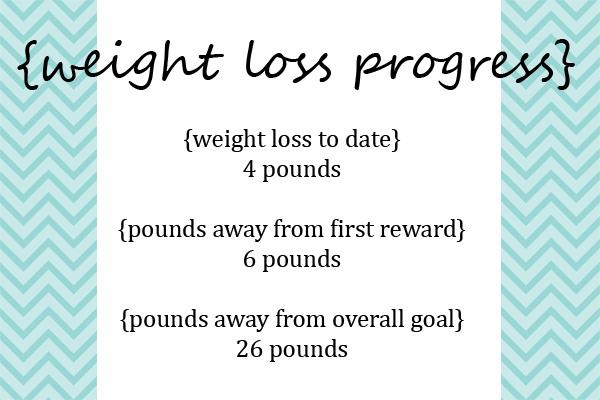 weight loss progress week 6
