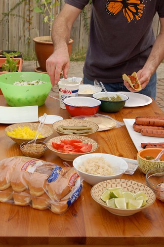 Hot Dog Party!