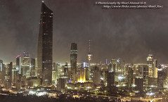Kuwait City (Dhari Ahmad Al-H) Tags: pictures street city travel streets building clouds buildings photography lights al high photographer traffic image towers picture thecity h kuwait build ahmad kuwaitcity citys kuwaittowers dhari blinkagain dhariahmadalh kuwaitbuldings