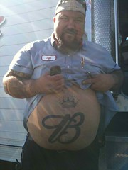Jeff's BIG belly (I.E. Bear II) Tags: friends hairy man cute guy beer happy gut big furry friend fat handsome chub dude belly trail bubba beerbelly chubby thick gordo bellies panza happytrail panzon pansa stocky panson