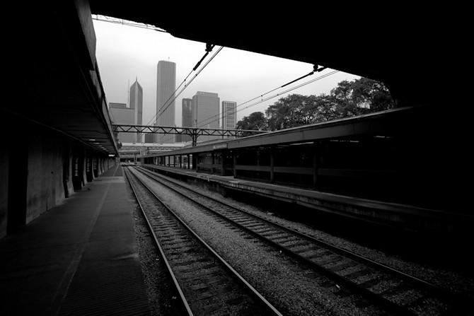 Van Buren Station Morning