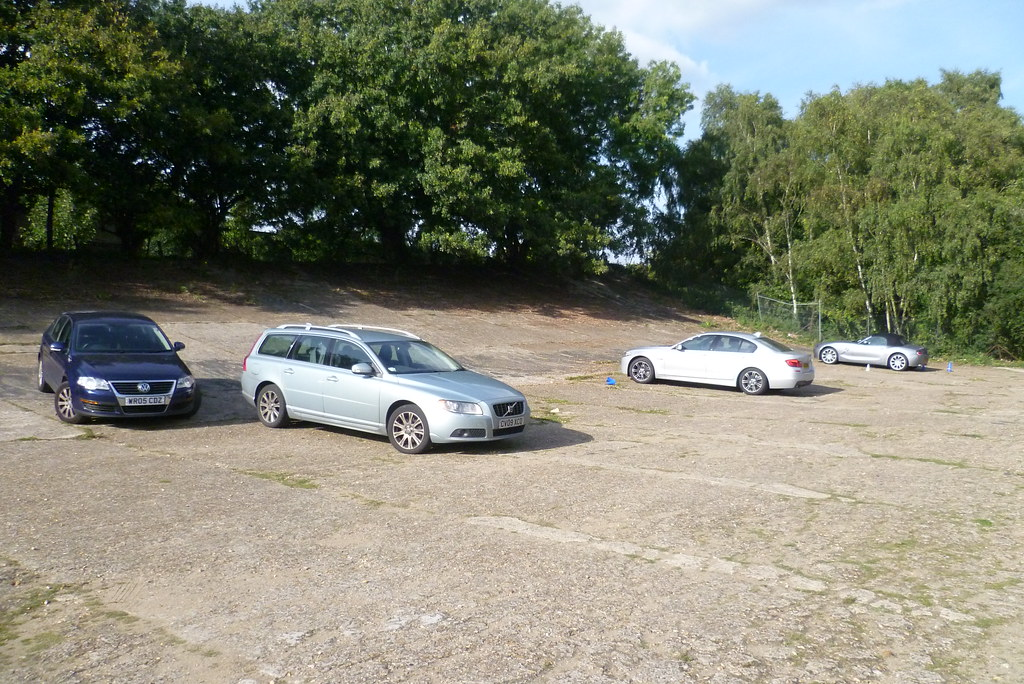 A little drive on the famous Brooklands track