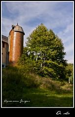 A silo... (Aquamarine Images) Tags: trees summer sky nature aquamarine images september cannon farms silos tamron handheldphoto mygearandme ringexcellence