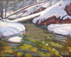 Mora Creek in Winter   8 x 10
