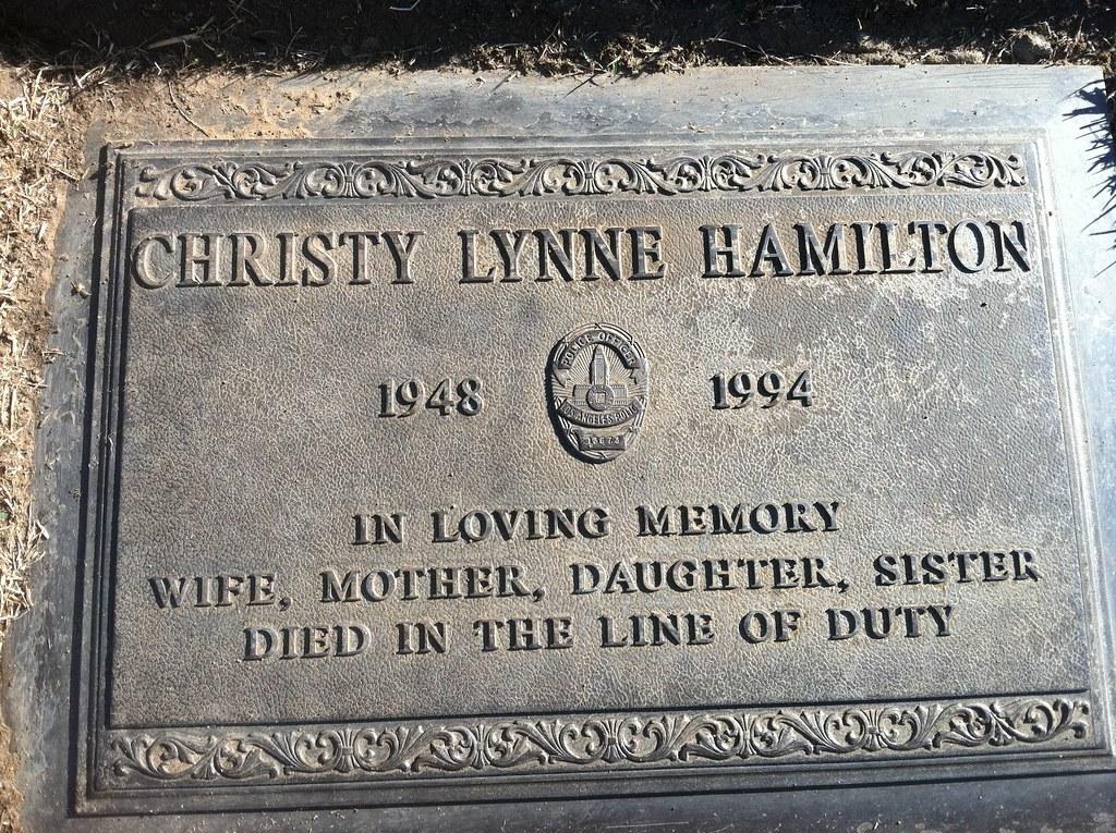 Off. Christy Lynne Hamilton - LAPD