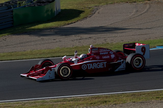 Scott Dixon Winning run